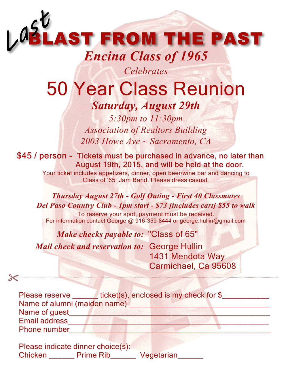 class reunion program template - family reunion program template itinerary letter